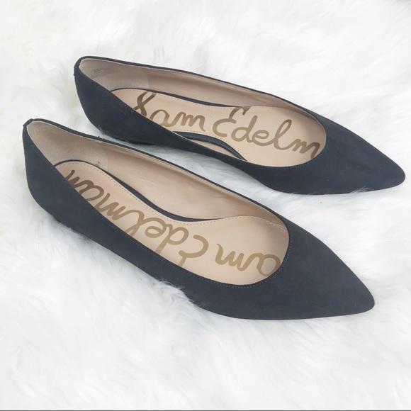 ad8fe910c0d1 Sam Edelman Leather Rae Pointed Toe Flats Gray. M 5b5cb5561299556e56d1ded8